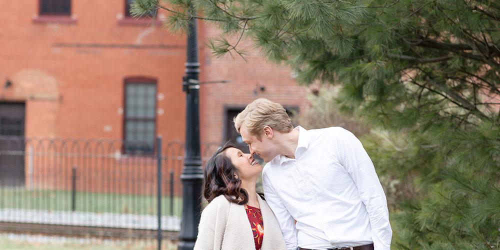 Jenna & Ben   Victorian Bellefonte Engagement